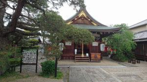 ならまちにある御霊神社
