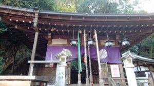 岩戸神社 社殿
