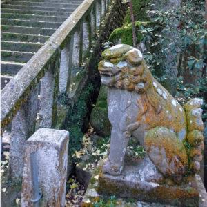 高御座神社 狛犬